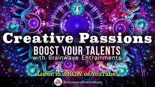 Need a quick boost for creative mind of yours? This 5-minute binaural beat with isochronic tone music track contains brainwave ...