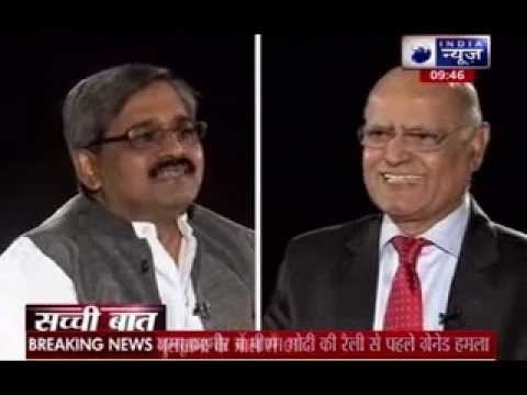 Sachchi Baat: India News Exclusive interview with Satish Upadhyay