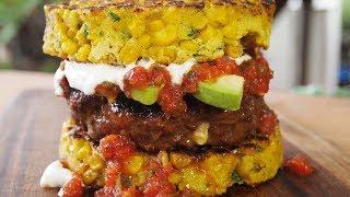Stuffed Chorizo Burger Recipe | Mexican Inspired Burger! by Ballistic BBQ
