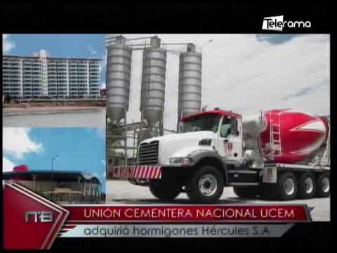 Unión Cementera Nacional UCEM adquirió hormigones Hércules S.A.