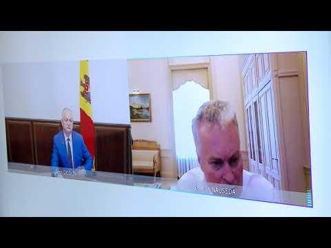 Președintele Republicii Moldova a avut o discuție online cu Președintele Republicii Lituania