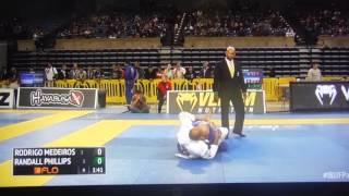 Rodrigo Medeiros 2016 IBJJF Pan Champion