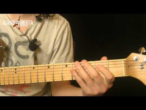 Como tocar Pretty Woman de Roy Orbison - Leccion de guitarra electrica