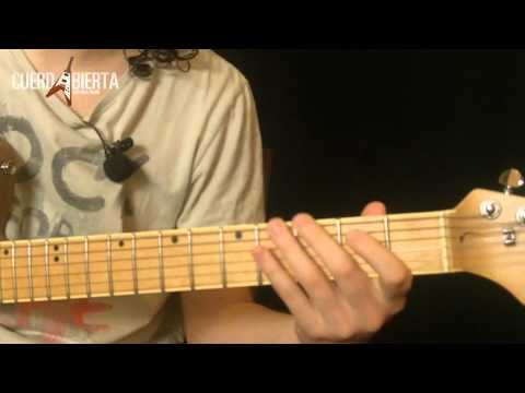 Como Tocar Pretty Woman De Roy Orbison - Leccion De Guitarra Electrica