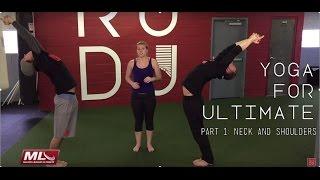 Video 15 Minute Yoga for Ultimate Athletes - Part 1: Neck and Shoulders | Rodu Training MP3, 3GP, MP4, WEBM, AVI, FLV Maret 2018