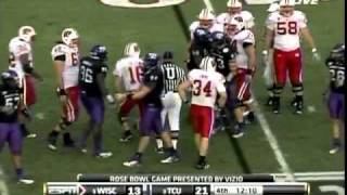 Tank Carder vs Wisconsin (Rose Bowl)