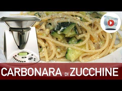 video ricetta: bimby - carbonara di zucchine