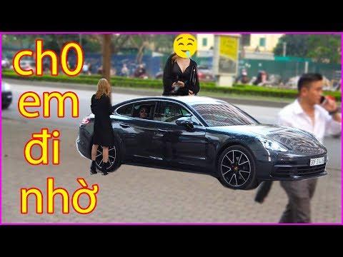 Trời nắng chủ tịch vác siêu xe Porsche đi cua gái và cái kết bất ngờ - Use Porsche Pickup line - Thời lượng: 6 phút, 31 giây.