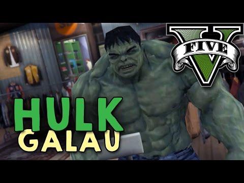 GTA 5 PC Mod – HULK GALAU !! – Bahasa Indonesia (Engga Lucu + Ngakak)