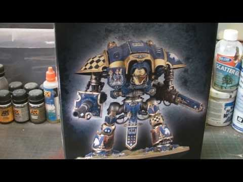 Product Review: Games Workshop: Imperial Knights Titan Part One