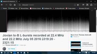 Nonton Jupiter Radio Bursts Received On 22 Mhz Shortwave July 5th 2016 By Thomas Ashcraft Film Subtitle Indonesia Streaming Movie Download