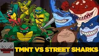 TMNT VS Street Sharks | DEATH BATTLE Cast by ScrewAttack