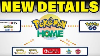 New Pokemon Home Details - More Features Planned! by Verlisify