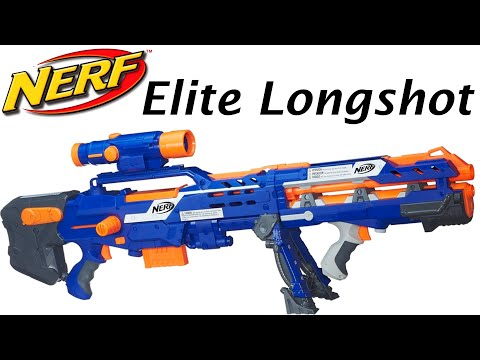 Nerf N-Strike Elite Longshot CS-6 Unboxing and Review