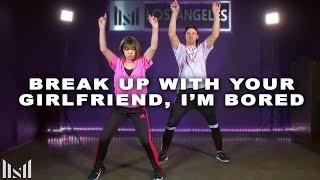 ARIANA GRANDE - Break Up With Your Girlfriend, I'm Bored | Matt Steffanina & Bailey Sok