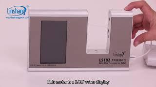 LS182 window tint meter youtube video