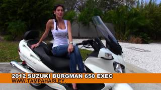 4. 2012 Suzuki Burgman 650 Executive for Sale