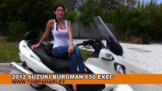 7. 2012 Suzuki Burgman 650 Executive for Sale