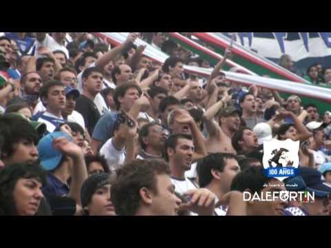Clausura 2010 . La banda esta loca . Hinchada - La Pandilla de Liniers - Vélez Sarsfield - Argentina - América del Sur