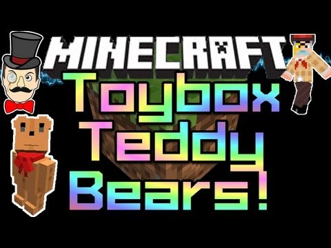 Minecraft Mods – TOY BOX TEDDY BEARS ! Magic Toybox Mod – Fighting Teddies !