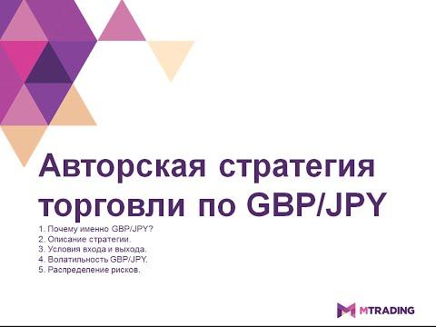 Авторская стратегия торговли по GBP/JPY от 20.04.2016г