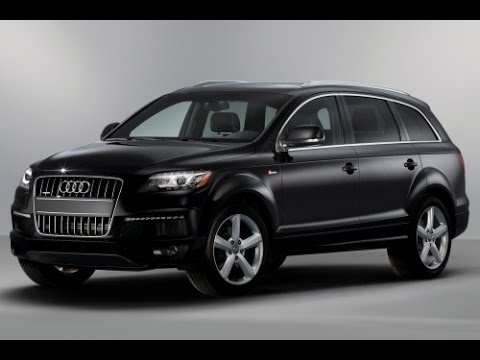 2015 Audi Q7 Start Up and Review 3.0 L Supercharged V6