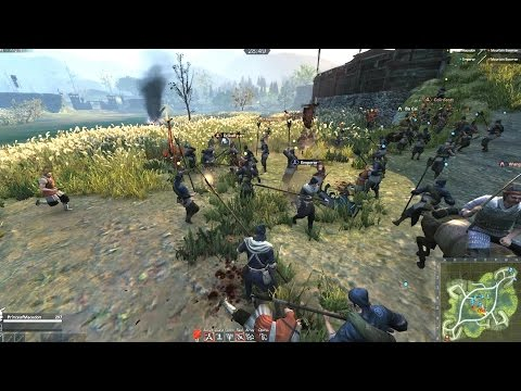 Tiger Knight: Empire War Online Battle #01 (commentary)