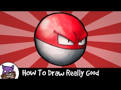 Så målar du Voltorb Ifrån Pokémon