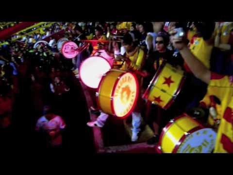 LOCURA 81 MORELIA vs cuenca Copa Libertadores Salida - Locura 81 - Monarcas Morelia