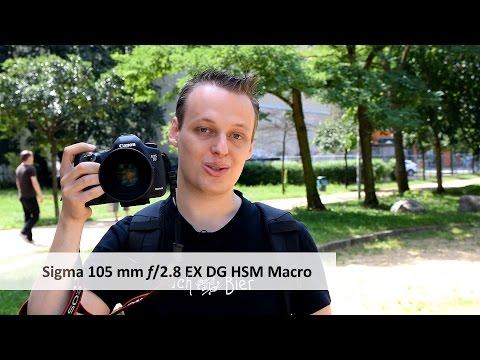 Sigma 105mm F2.8 EX Makro DG OS HSM - Makro-Objektiv mit Bildstabilisator im Test [Deutsch]