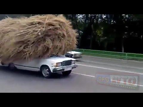 Прикольные будни автомобилистов - DomaVideo.Ru