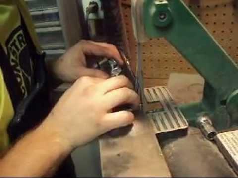 Kife Making: Grinding Edge Jig