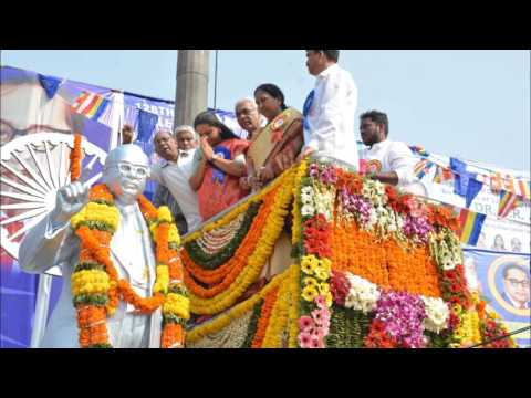 MP Kavitha Pays Tribute to Ambedkar