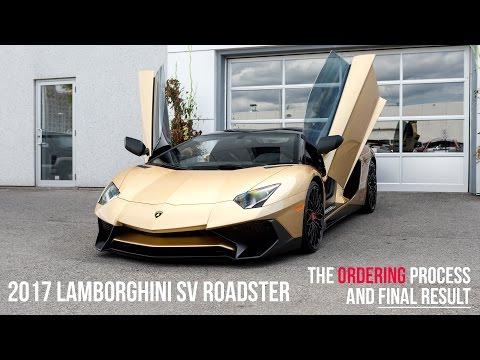 Buying a 2017 Lamborghini Oro Elios SV Roadster, Start to Finish