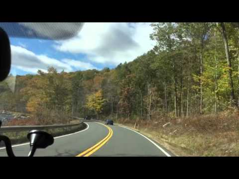 Colorful Drive to Easthampton, MA.