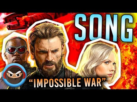 "Avengers Infinity War Song ""Impossible War"" Tryhardninja feat. Mega Ran"