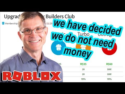 ROBLOX IS REMOVING BUILDERS CLUB???