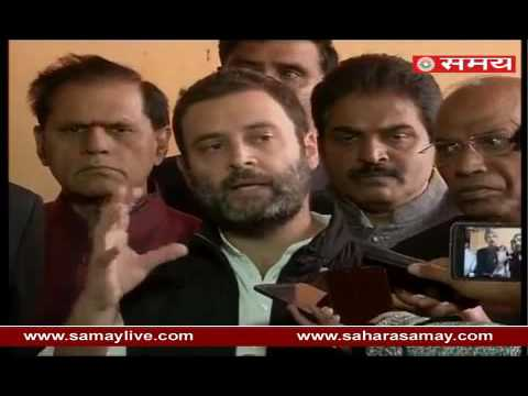 Rahul Gandhi on completion of one month of Demonetization