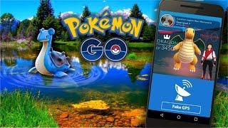 Fake GPS Dominando Vários Ginásios, Bônus Diário e Lapras Fugindo no Pokémon GO! Part 3 by Pokémon GO Gameplay
