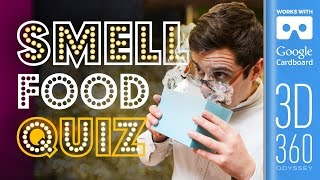The Smell Round | Common Senses Quiz (VR) by SORTEDfood
