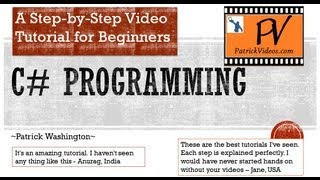 C# Programming Tutorial - Step By Step