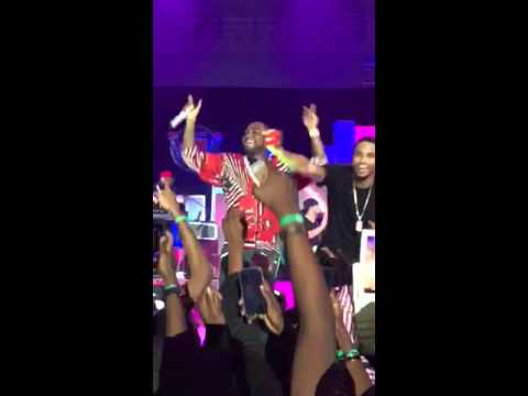 Davido and Trey Songz Perform Aye at Rhythm Unplugged 2015