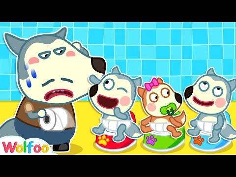 Oh No, Wolfoo's Daddy Doesn't Want Many Babies - Funny Stories About Wolfoo Family   Wolfoo Channel
