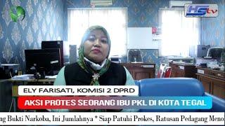 Seorang Ibu PKL Dikota Tegal Mengeluh, Berikut Jawaban Dari Komisi 2 DPRD Kota Tegal