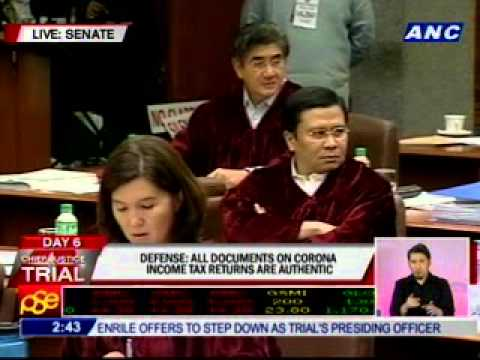 Santiago: Henares to testify only as attesting officer
