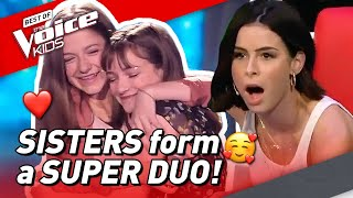 These SISTERS' voices SHOOK the coaches in The Voice Kids