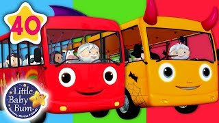 Video Wheels on The Bus | All Wheels on The Bus Songs + More Nursery Rhymes & Kids Songs | Little Baby Bum MP3, 3GP, MP4, WEBM, AVI, FLV Oktober 2018