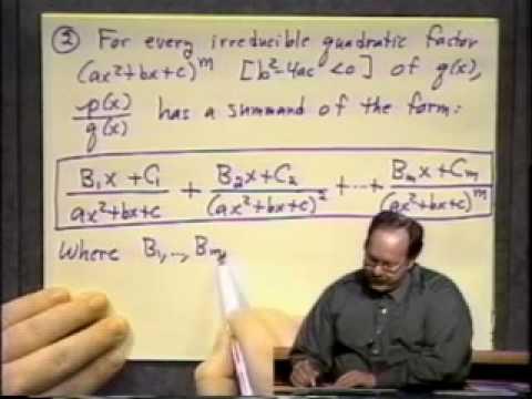 Algebra Lernen - Vorlesung 33 - Lineare Gleichungssysteme