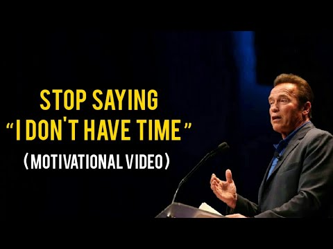 Stop Wasting Time By Arnold Schwarzenegger | Stop Wasting Your Life Motivational Video