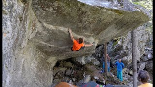 Power of Now (8C/V15) First Ascent by mellow